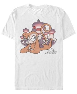 Disney Men's Aladdin Upset Abu Sulton's Palace Short Sleeve T-Shirt