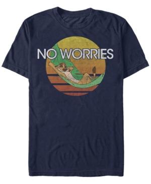 Timon Chillin' No Worries Short Sleeve T-Shirt