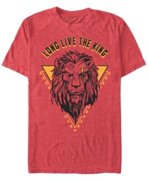 Live Action Scar Geometric Triangle Short Sleeve T-Shirt