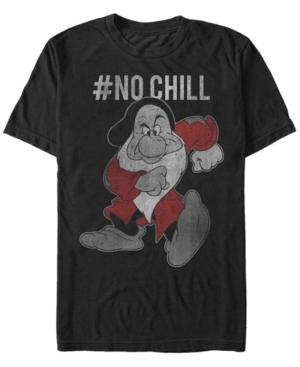 Disney Men's Snow White Grumpy No Chill Vintage Short Sleeve T-Shirt