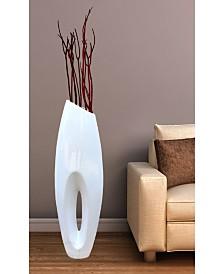 "Modern Large Floor Vase, 40"""