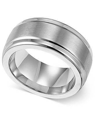triton s stainless steel ring 9mm wedding band