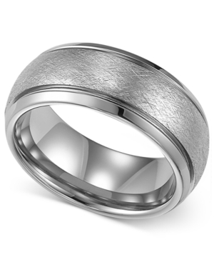 Triton Men's Tungsten Ring, Wedding Band