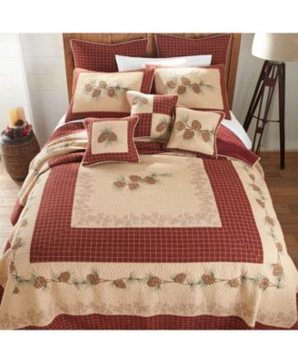 Pine Lodge Cotton Quilt Collection, Queen