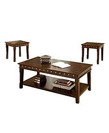 Wooden Coffee and End Tables Set