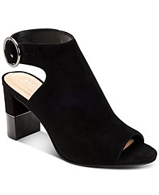 Floriss Step 'N Flex Block-Heel Shooties, Created for Macy's