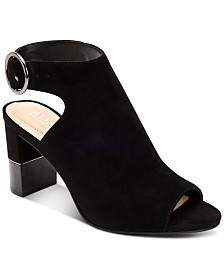 Alfani Floriss Step 'N Flex Block-Heel Shooties, Created for Macy's