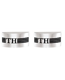 Tommy Hilfiger Men's Stainless Steel Cufflinks