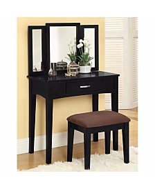 Benzara Novelty Style Vanity Table