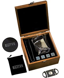Bezrat Whiskey Accessories Box and Utensils