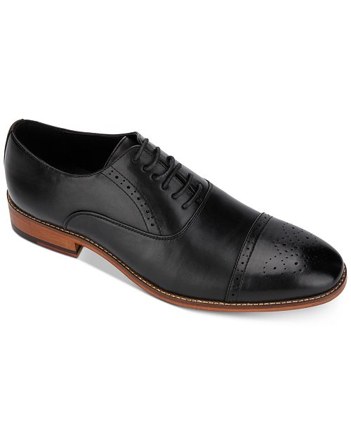 Unlisted Kenneth Cole Men's Cheer Semi-Brogue Oxfords