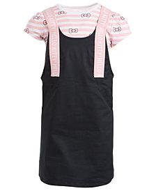 Hello Kitty Little Girls Striped Bow Dress