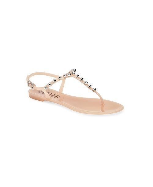 BCBGMAXAZRIA Jellia Jelly Flat Sandals