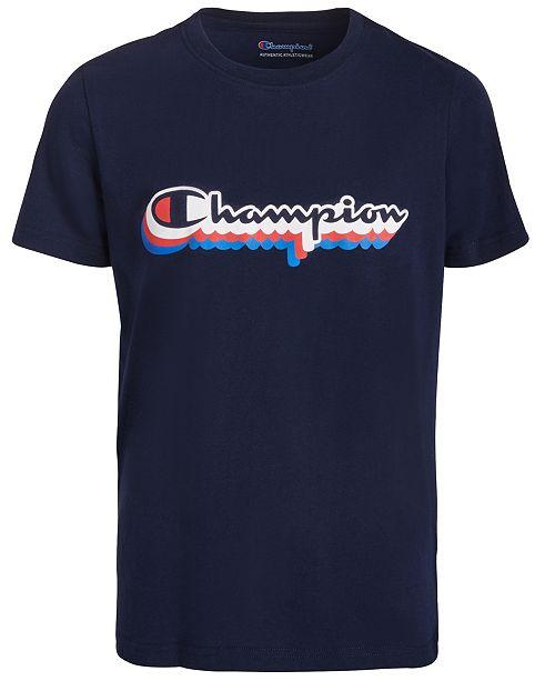 Champion Big Boys Logo T-Shirt