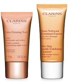 Free 2pc skincare gift with your $65 Clarins purchase!
