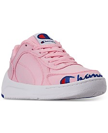 Champion Women's Super C Court Low Athletic Sneakers from Finish Line
