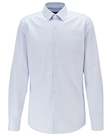 BOSS Men's Isko Slim-Fit Cotton Shirt