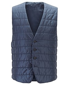 BOSS Men's Hiwan Slim-Fit Quilted Bodywarmer
