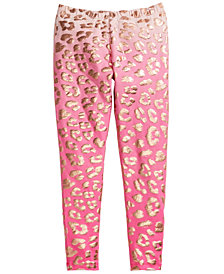 Epic Threads Big Girls Cheetah-Print Leggings, Created for Macy's