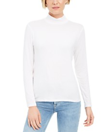 Style & Co Mock-Neck Top, Created for Macy's