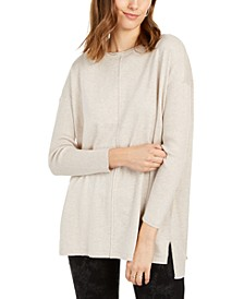 Seam-Front Tunic Sweater, Created for Macy's