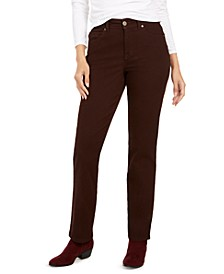 Curvy-Fit Straight Leg Jeans, Created for Macy's