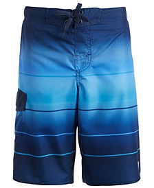 Big Boys Epic Stripe Swim Shorts