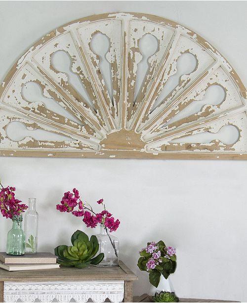 """VIP Home & Garden VIP Home International Antique 42"""" Wood Wall Art"""