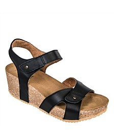 Axxiom Brook Wedge Sandals