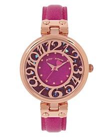 Betsey Johnson Glitter Dial Watch 36mm