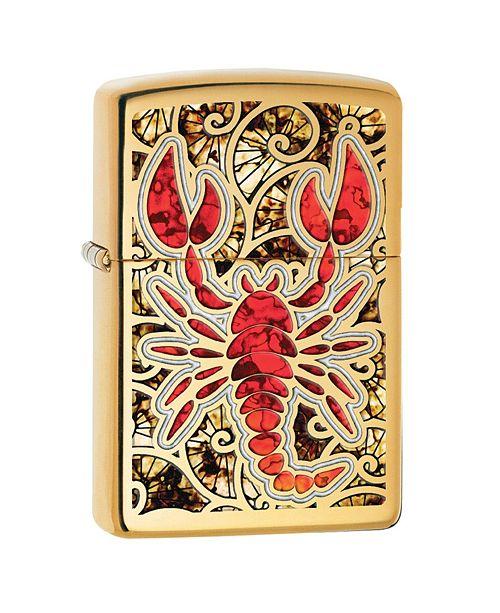 Sportsman's Supply Zippo Scorpion Shell Pocket Lighter