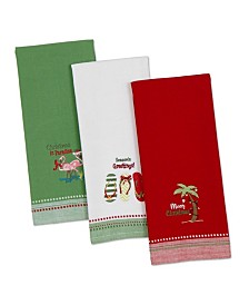 Design Imports Coast Christmas Dishtowel Set