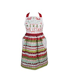 Whisk Merry X-mas Skirt Apron