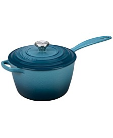 3.25-Qt. Cast Iron Saucepan