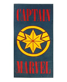 Marvel Captain Marvel Beach Towel
