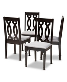 Cherese Dining Chair, Quick Ship (Set of 4)