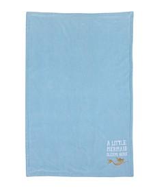 Little Mermaid Reversible Fleece Blanket