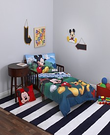 Disney Mickey Mouse Toddler Bedding & Decor Collection
