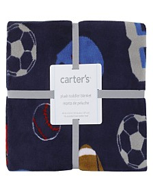 Carter's All Star Sports Fleece Toddler Blanket