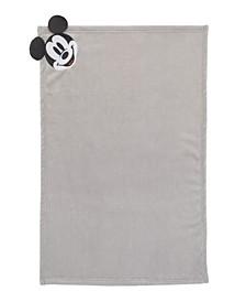 Mickey Mouse Corner Applique Blanket