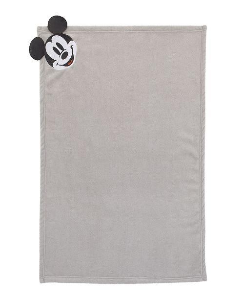 Disney Mickey Mouse Corner Applique Blanket