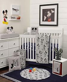Disney Mickey Mouse 6-Piece Crib Bedding Set