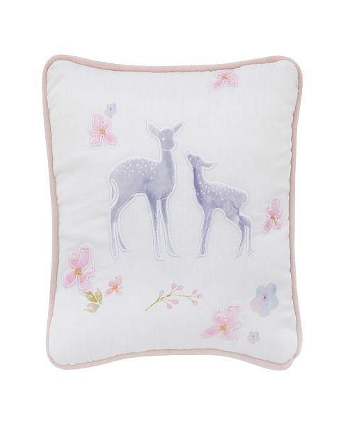 NoJo Watercolor Deer Decorative Pillow