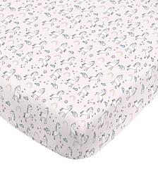 Nojo Unicorn Mini Crib Sheet