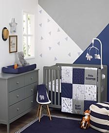 Explore Baby Bear 4-Piece Crib Bedding Set