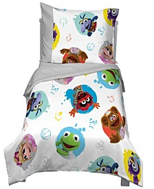 Muppet Babies 4-Piece Toddler Bedding Set