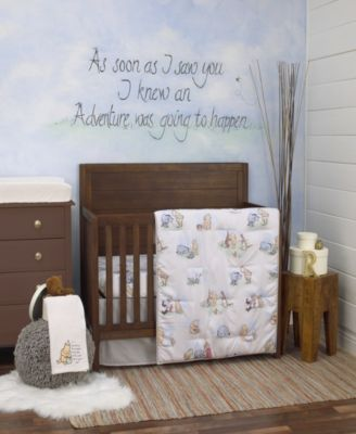 Winnie the Pooh Storybook 6-Piece Crib Bedding Set
