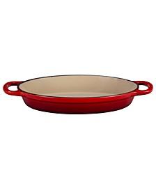 "9.5"" Cast Iron Oval Baker"