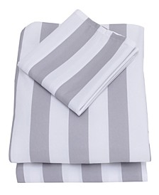 Printed 3-Piece Toddler Sheet Set