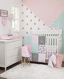 Carter's Unicorn Snuggles 4-Piece Crib Bedding Set